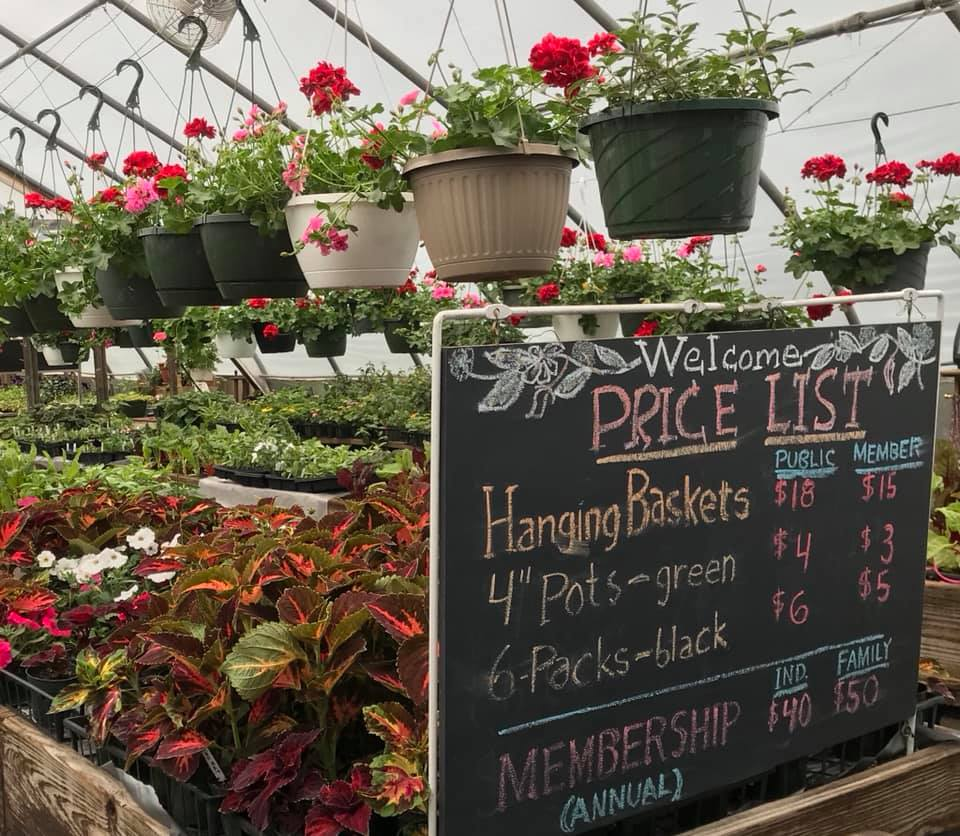 Price list for MV Greenhouse